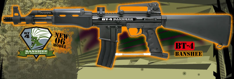 BT Banshee Paintball Gun